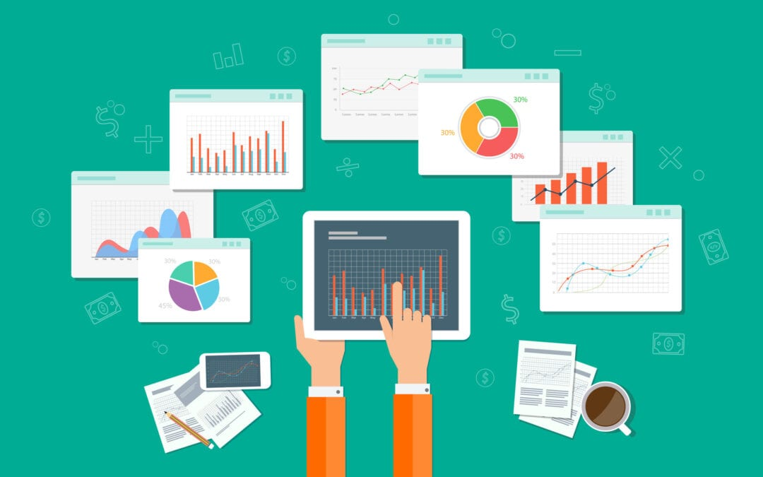 Illustration of digital marketing reports